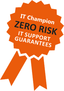 zero risk guarantee it champion