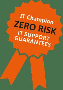 zero risk guarantee it champion