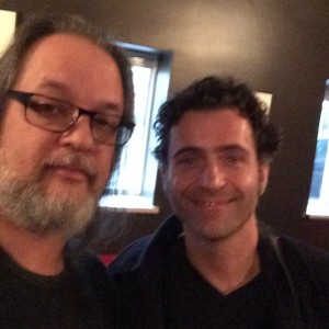 Selfie with Dweezil Zappa