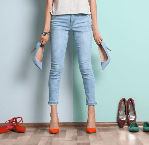 Die Qual der Wahl: Schuhe