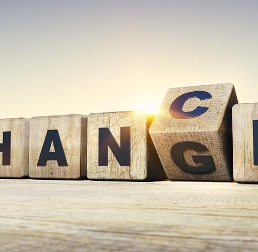 Change-Veränderung
