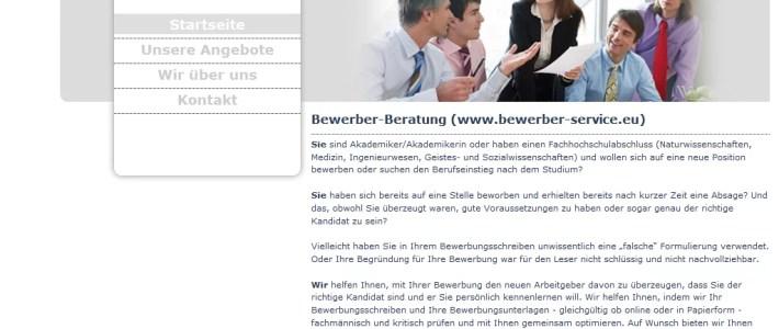 DM-Consultuing: Bewerber-Beratung