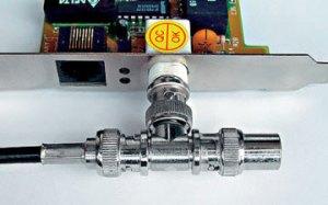 топология шина, Т-коннектор, настройка сети в Саратове