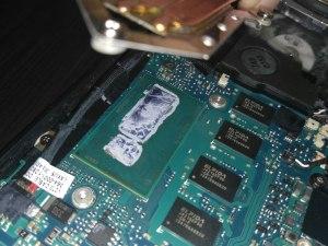 Разборка sony vaio svp132a1cv, замена термопасты, чистка ноутбука
