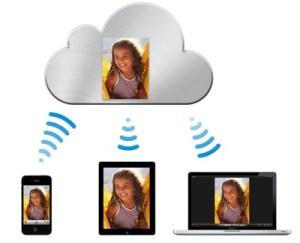 Mit iCloud gelangen Bilder, Musik, Dokumente und andere Daten automatisch auf allen verbunden Geräten