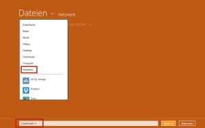 Unter Windows 8 eine Netzwerkverbindung herstellen