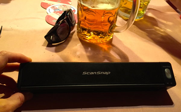 ScanSnap iX100- Eine Produktvorführung auf der Wiesn - auch mal was Neues