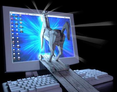Ein Trojanisches Pferd (Quelle: Panda Software)