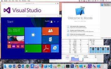 Visual Studio unter Windows auf einem Mac