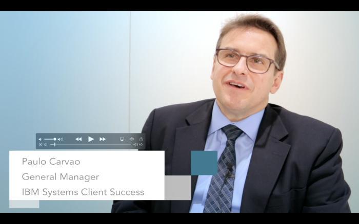 CeBIT 2017: Paulo Carvao, IBM Systems, über Cognitive Computing