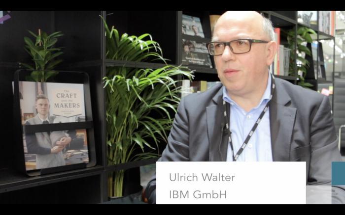 CeBIT 2017: Ulrich Walter von IBM über Künstliche Intelligenz und IBM-Systeme