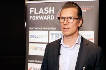 Dr. Carlo Velten im Interview auf der Flash Forward München 2017