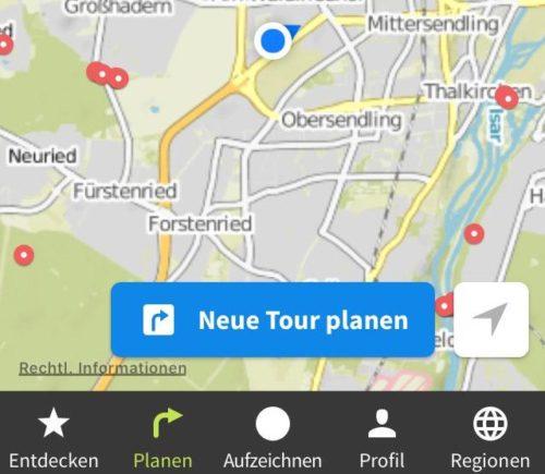 Warum ich die Navi-App Komoot zum Radfahren und Wandern toll finde [Review]