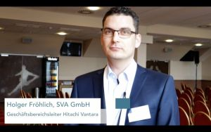 Holger Fröhlich, SVA, über Hitachi Content Platform