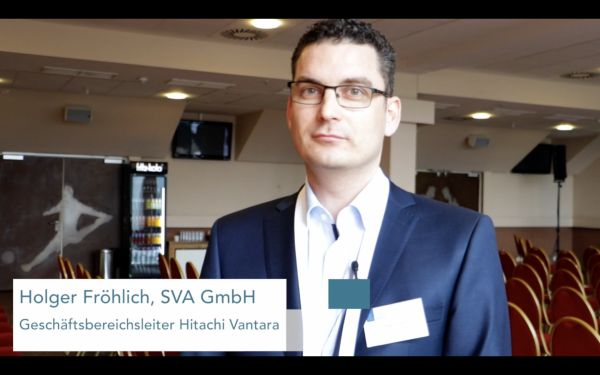 [Video] Holger Fröhlich, SVA, über die Hitachi Content Platform