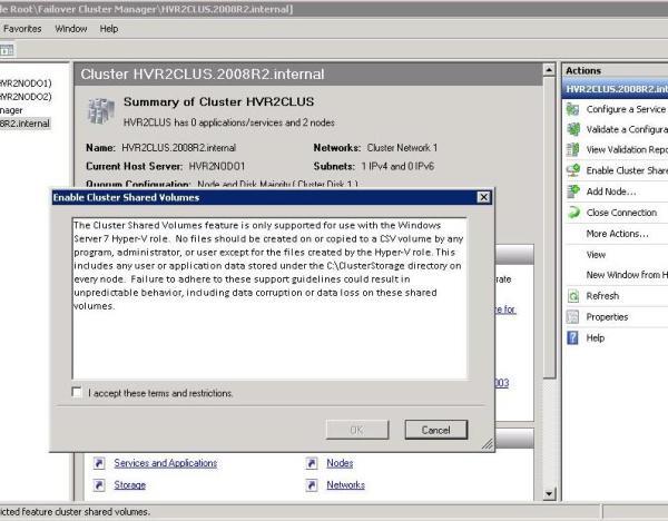 Hyper-V Server R2 on BladeCenter S Tutorial | IT 2 0