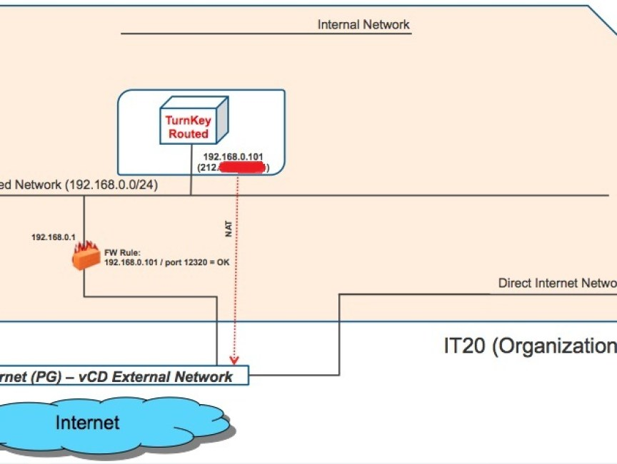 vCloud Director 1 0 1: Networking Samples | IT 2 0