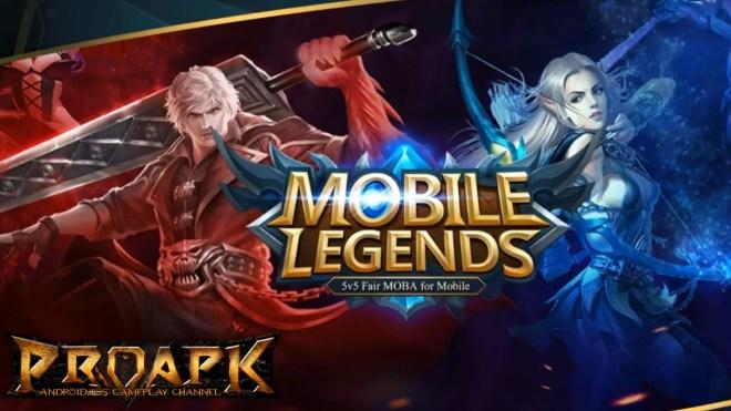 تحميل لعبة mobile legends: bang bang على هواتف اندرويد