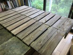 折りたたみテーブルの天板