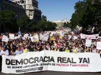 indignados madrid 2011