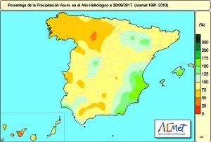 precipitazioni spagna
