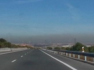 inquinamento madrid