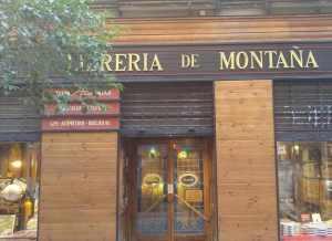 libreria montagna madrid