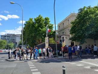 consolato madrid voto europee 2019