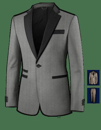 Black Suit For Men Wedding