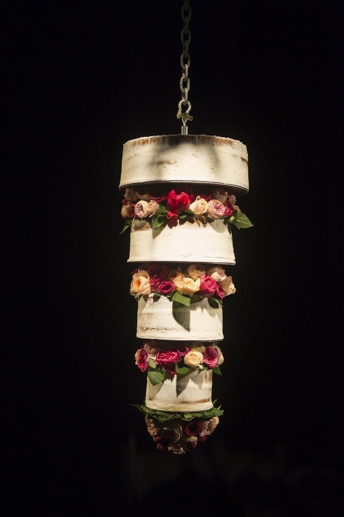 Upside Down Wedding Cake Mariana Hardwick Wedding Dress