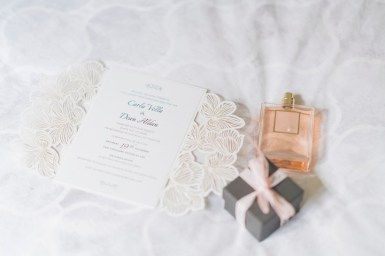 Wedding invitations - Beautiful simple + elegant outdoor wedding under the Chateau in the garden | itakeyou.co.uk - garden wedding ,outdoor wedding ,blush wedding