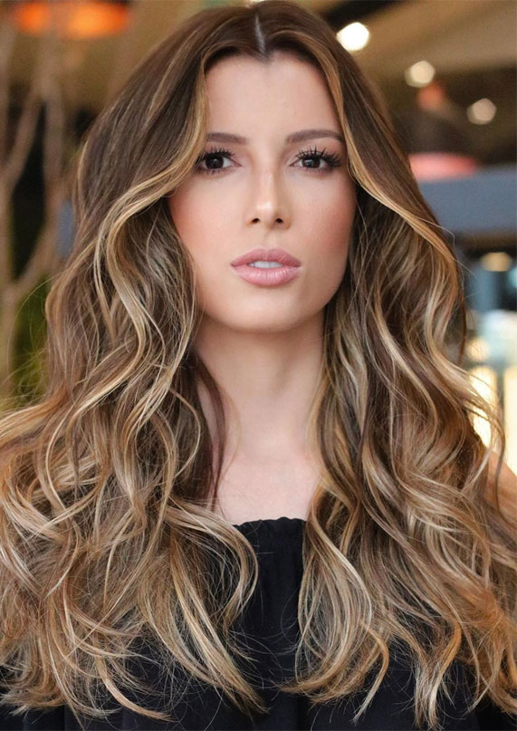 brunette, blond balayage highlights, hair color ideas, hair color for over 50s ideas, best hair color 2020, best hair color to look younger, hair color 2019 female, brown hair color, hair color with highlights, brown hair with highlights , balayage hair ideas, balayage root shadow, babylights