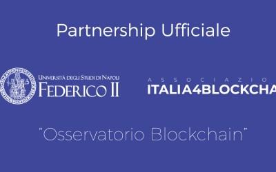 Partnership ufficiale con il dipartimento di economia management dell'università Federico II di Napoli