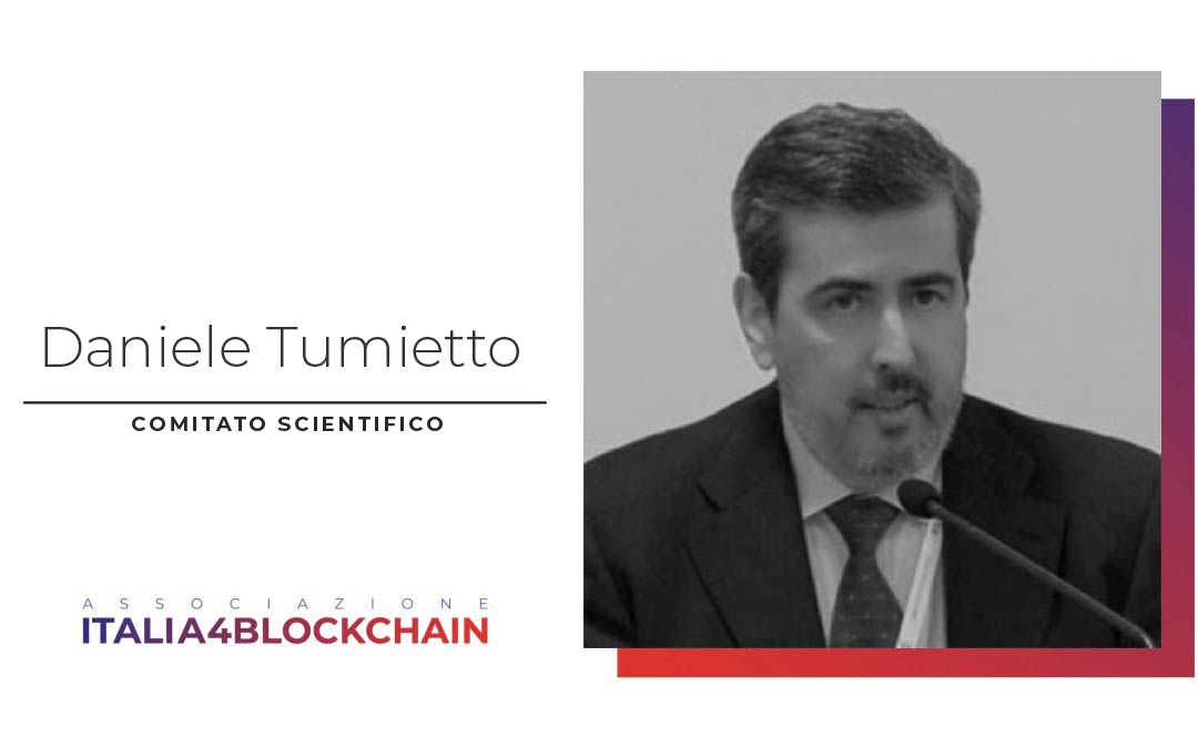 Daniele Tumietto nuovo membro del Comitato Scientifico di Italia4Blockchain