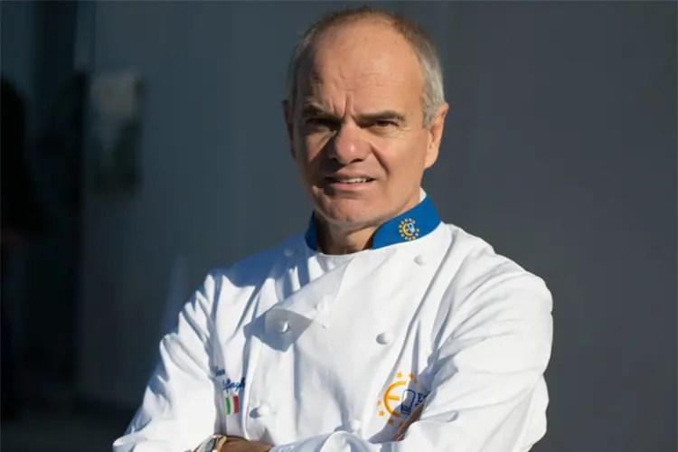 Enrico Derflingher - L'obbligo di fare squadra in cucina Euro-Toques precursore dal 1993