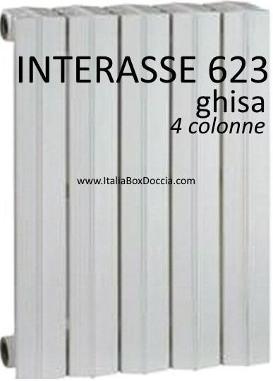 Radiatore In Ghisa Modello Tema 4681b Vendita Online Italiaboxdoccia
