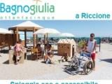 banner bagno giulia riccione2 - Italiaccessibile - Nuovo Natural Village - Porto Potenza Picena (Mc)