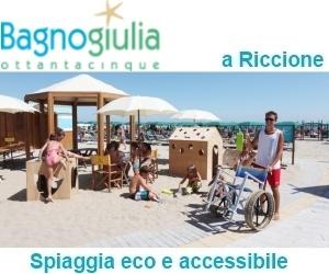 Bagno Giulia 85 Riccione – Italiaccessibile