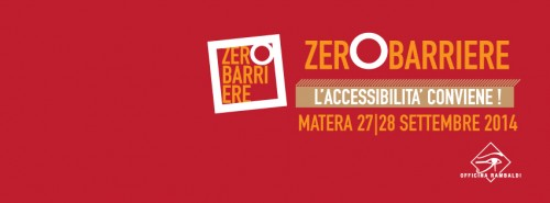 zero barriere matera 500x185 - 27 settembre presentazione a Matera del manuale dell'interprete della lingua dei segni italiana