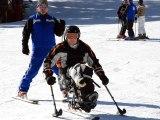 sci disabile italiaccessibile - La nazionale paralimpica non vedenti di Judo ad Ostia con la campionessa Elena Moretti