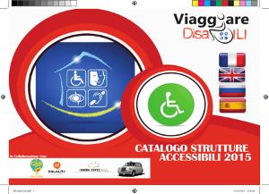 E' online il Catalogo Viaggiare Disabili 2015 delle strutture ricettive accessibili in 5 Lingue