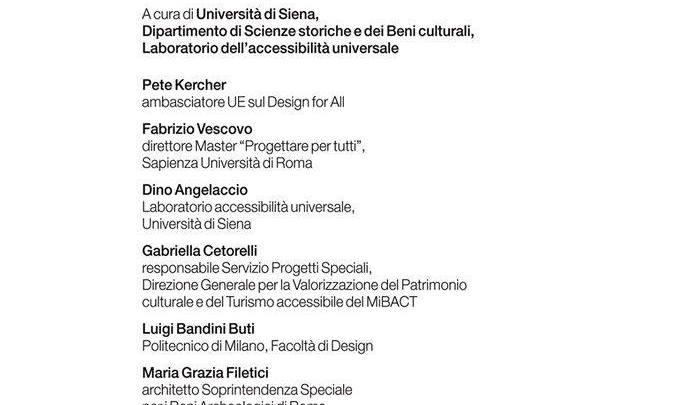 21 Febbraio Firenze Tourisma 2015 – Convegno Attenzione l'accessibilità provoca benessere alla cultura!
