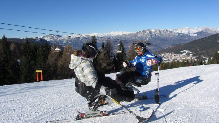 Alpe Cimbra (Tn): a Folgaria i Campionati Italiani Disabili FISIP Sci Alpino e Snowboard 2015