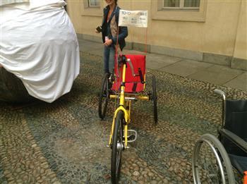 """Torino: """"To-handbike"""", primo servizio di bike sharing dedicato ai disabili"""