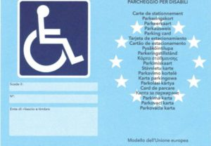 """Contrassegno disabili 300x208 - Il nuovo """"Contrassegno parcheggio disabili europeo"""" : procedure per ottenerlo entro il 15 settembre 2015"""