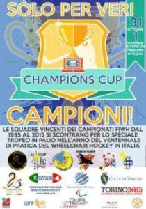 wheelchair hockey campioni torino 31 ottobre 1 novembre 2015 210x300 - A Torino la Champions Cup FIWH di Wheelchair Hockey