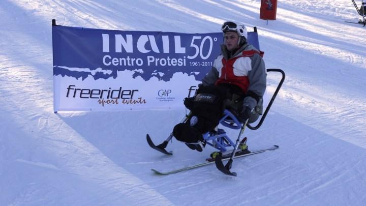 Centro Protesi INAIL e CIP Emilia Romagna organizzano uno stage sulla neve per persone con disabilità