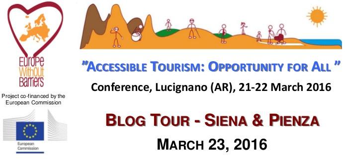 Blog Tour Siena e Pienza - Turismo Accessibile