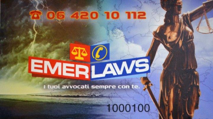 Emerlaws realizza il primo e unico Pronto Soccorso Legale in Italia