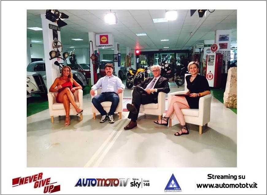 6 Luglio, Never Give Up : disabilità e due ruote su AutomotoTV